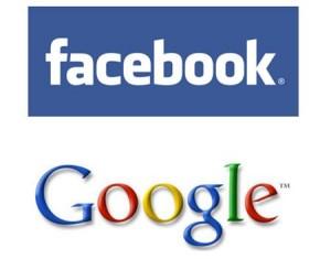 facebook-google соцсети