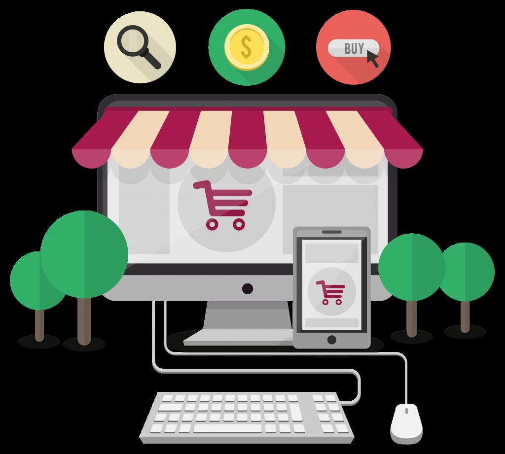 интернет магазин создание